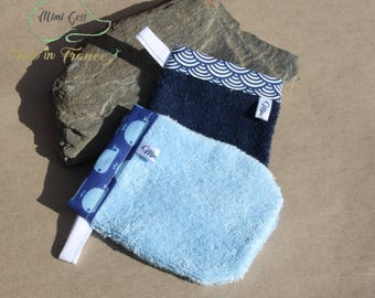 Lot 2 small Washcloths for children.