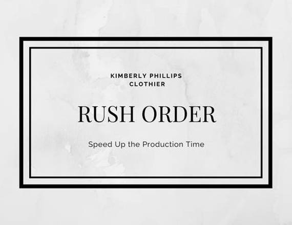 Rush Order- Bridesmaid, Wedding Gown, Prom, Mother of the Bride