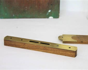 Vintage Spirit Level/Leveller/Vintage Tool/Old Spirit Level/Carpentry/Woodworking (Ref1967Y)