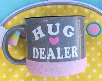 Hug Dealer Campfire Mug//Coffee Mug//Coffee Cup//Holiday Mug