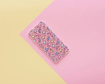 Holster IPhone 7/8 ' geometric vibes ' (silicone)