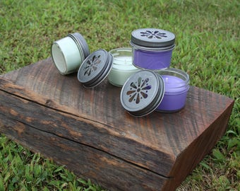4oz Jelly Jar Soy Candle