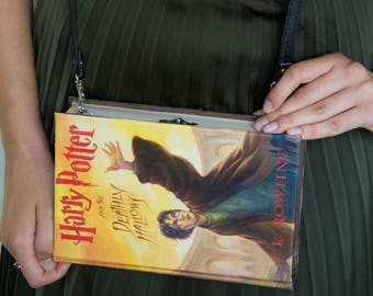 BOOK CLUTCH Harry Potter BAG Shoulder bag faux leather strap
