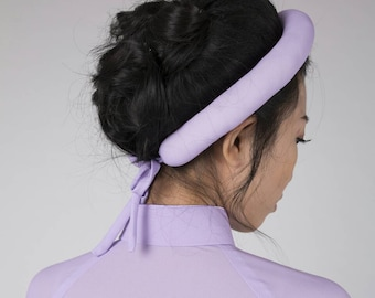 Vietnamese style headband. Made in the same fabric as your dress or your own choice.