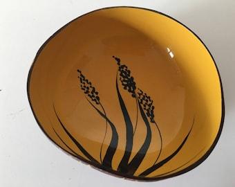 Vintage Coconut Dish