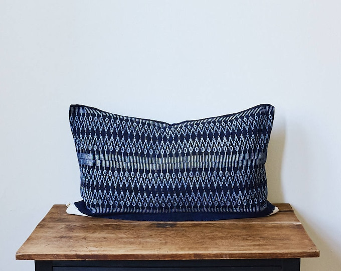 "Mor Hom lumbar throw pillow 16"" x 26"""