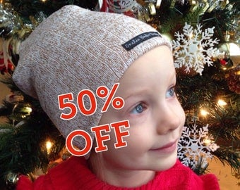 Slouchy Beanie Hats - Kids - Adult - Baby - Matching Hats - Winter Fashion Accessories