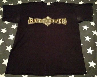 Bolt thrower those still loyal tour death metal t-shirt cannibal corpse immolation suffocation morbid angel carcass sinister entombed