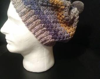 Multi color caron cake hat