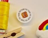 Thank you - Social Media - Etsy - Facebook - Instagram - small business sticker