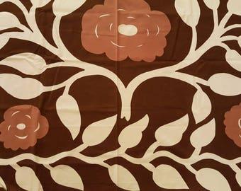 """Marimekko - Vintage fabric """"Naamio"""" - Maija Isola - 1970s (P7)"""