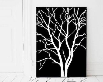 black poster etsy. Black Bedroom Furniture Sets. Home Design Ideas