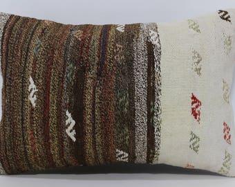 16x24 Anatolian Kilim Pillow Throw Pillow 16x24 Bohemian Kilim Pillow Turkish Kilim Pillow Ethnic Pillow Cushion Cover SP4060-650