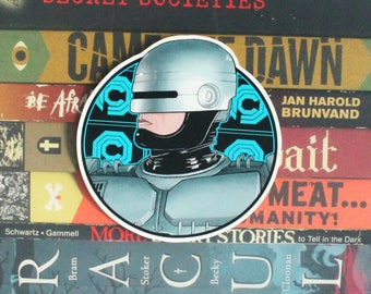 Robocop Cutout Sticker