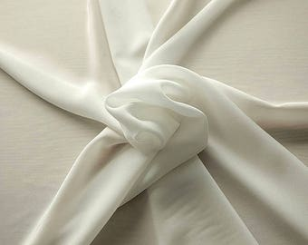 301002-Chinese natural silk crepe 100%, width 135/140 cm, made in Italy, dry cleaning, weight 88 gr