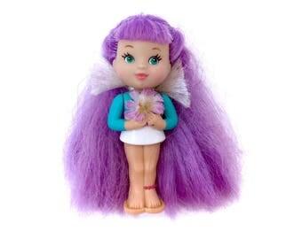 Vintage 1995 Everglo Princess Doll Girl Charm Kawaii Fairy Kei Chire Cute 90s 1990s Retro Original Scarce Obscure Toy Max Everglow RARE Cute