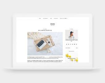 SALE! Orianna | Responsive Blogger Template