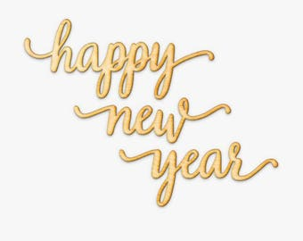 SVG Cut File for Cricut - Happy New Year