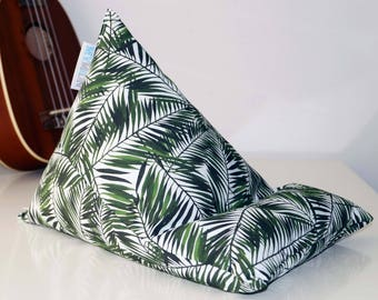 Tablet Pillow, Gadget Pillow, Tablet Stand, Ipad Pillow, Ipad Cushion, Fabric Stand, Tree Plant Leaves