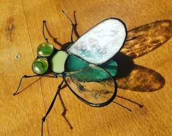 Stained Glass Fly