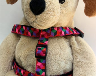 Block Party Dark Step-In Dog Harness