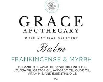 Frankincense & Myrrh Balm, Grace Apothecary