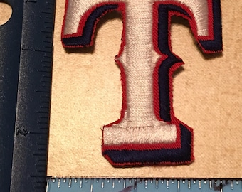 Texas Rangers Embroidered Patch