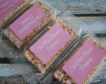 Crispy Marshmallow Bars/ Marshmallow/ Sweet/ Party Bags/ Goody Bags / Party Food/ Edible Gift
