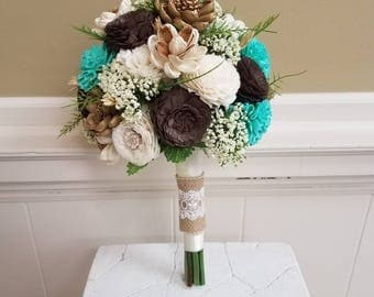 Large Sola Mint Bouquet