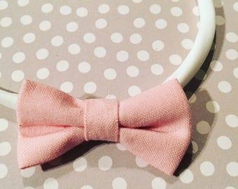 Tiny pink bow