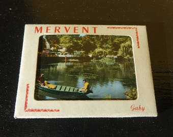 "Bag of 10 mini pictures/old postcards - ""MERVENT"" - colorized vintage photography"