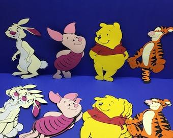 Winnie the Pooh & Friends cut outs