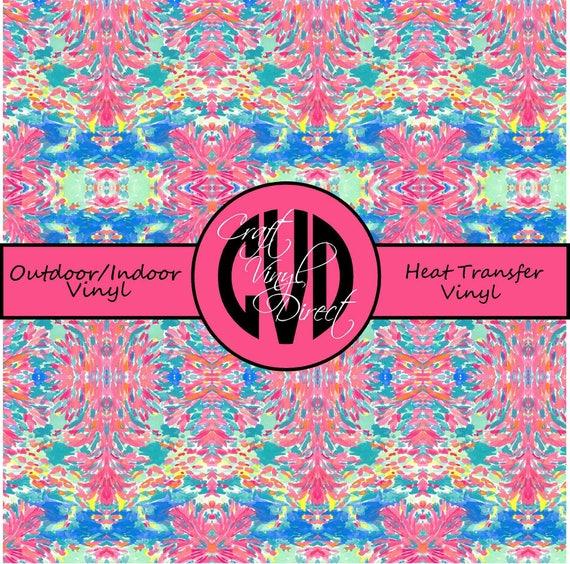 Beautiful Patterned Vinyl // Patterned / Printed Vinyl // Outdoor and Heat Transfer Vinyl // Pattern 758