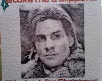 Handmade Ace Rimmer Red Dwarf Christmas Card