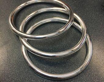 Sterling Silver Bangle Bracelet 5.3mm