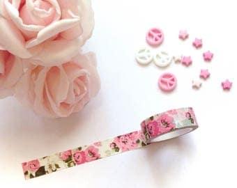 Washi Tape | Pink Floral
