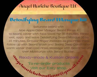Detoxifying Beard Masque Kit