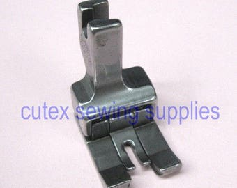 Double Compensating Top-Stitching Presser Foot For Industrial Sewing Machines