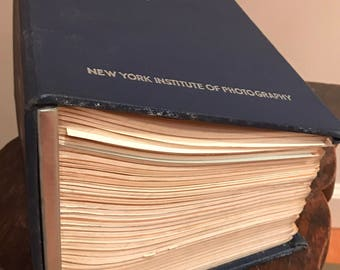 New York Institute of Photography Comple Course Guide Vintage 1950s cameras film