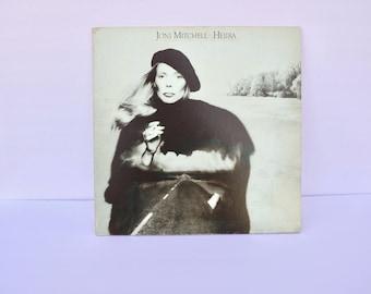 Joni Mitchell Hejira 1976 Album LP