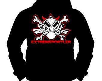 Extreme Sportsman Red | Carp | Catfish | Fishing Fishing | Hoodie | S-XXL