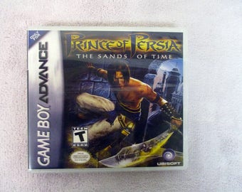 Prince of Persia: The Sands of Time GBA - GameBoy Advance Custom Case (***No Game***)