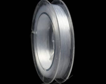 Wire 0.3 mm TRANSPARENT sold jewelry Nylon coil 20 m