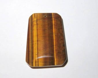 Pendant Tiger eye 25 x 35 mm