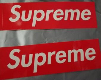 Supreme box logo sticker,supreme bogo, supreme NYC
