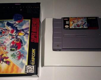 Mega Man X3 SNES (NTSC-US)