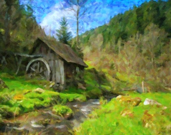 Black forest Lost Mill