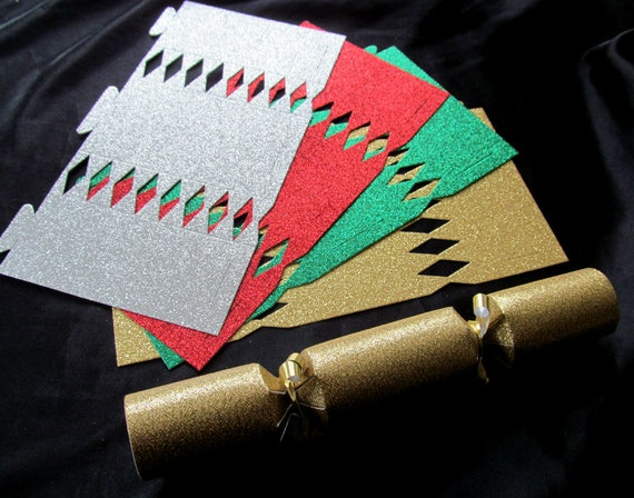 Christmas cracker diy kit party poppers glitter gold dir gefllt dieser artikel solutioingenieria Gallery