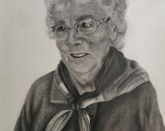 Custom Portrait (Graphite Drawing)