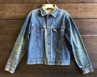 Vintage 70s Big Yank Denim Jacket
